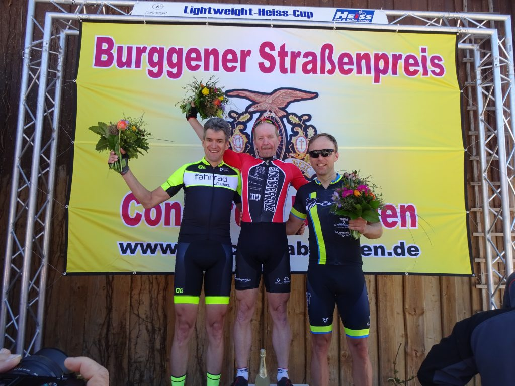 Thorsten erreichte verdient den 3. Platz!